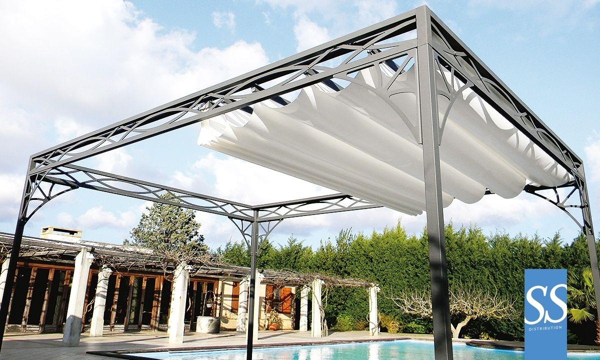 calypso r tractable 50 antica ch ssis armature acier galvanis laqu poxy toiture b che. Black Bedroom Furniture Sets. Home Design Ideas